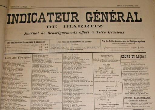 Indicateur général de Biarritz