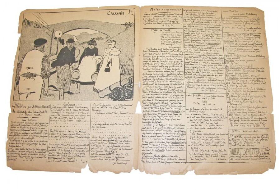 Le fond de bain, n°1, P.2-3