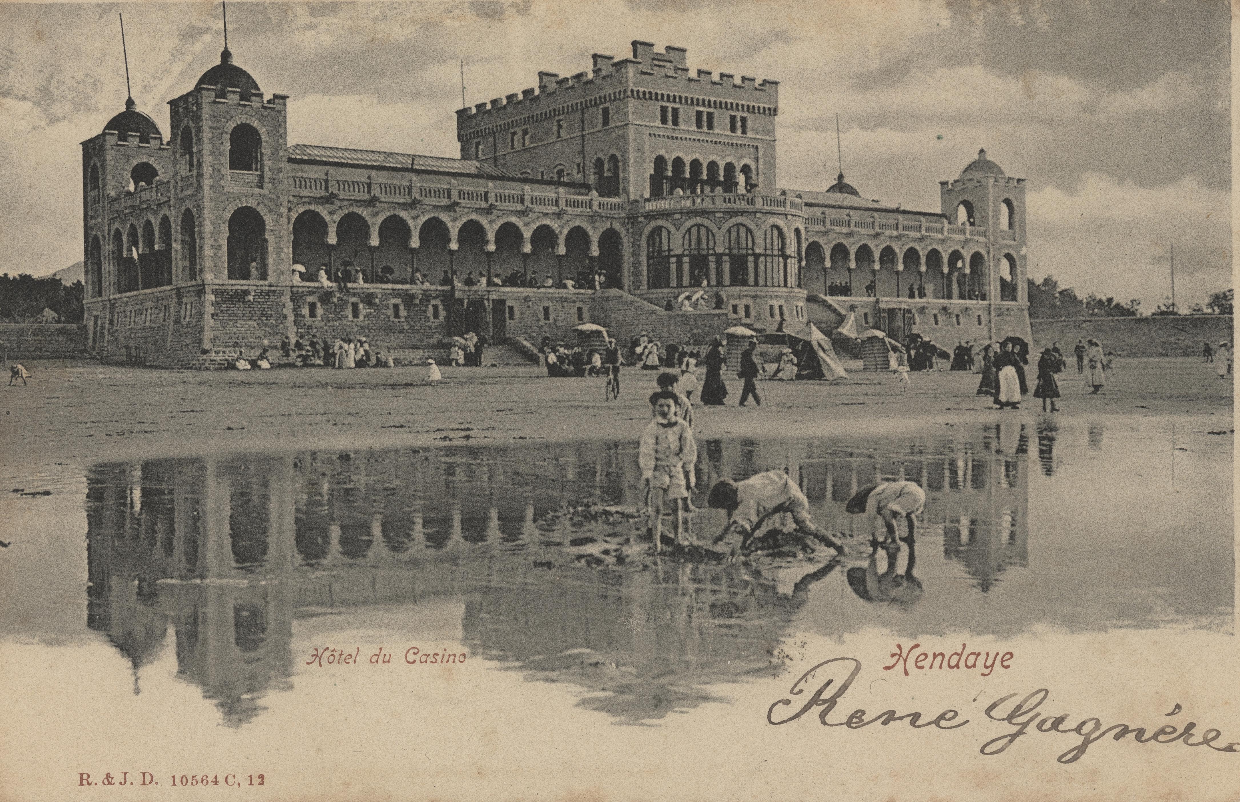 Le Casino Mauresque à Hendaye