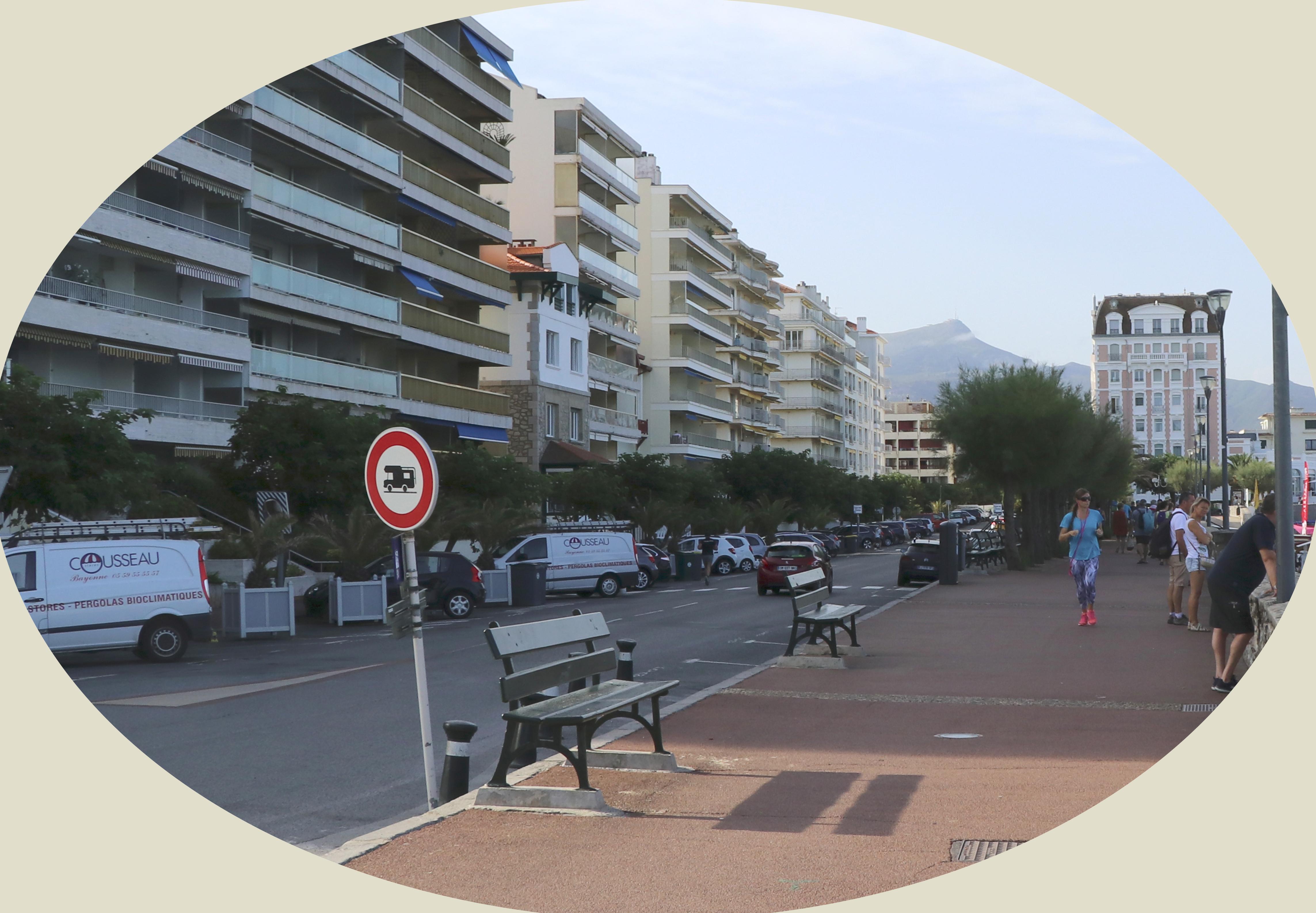 Avant Après #3 Côte Basque_Boulevard Thiers à Saint Jean de Luz