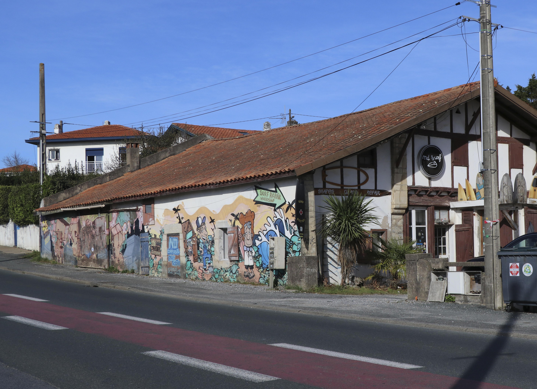 Avant Après #3 Côte Basque_Atelier ND surf à Bidart aujourd'hui