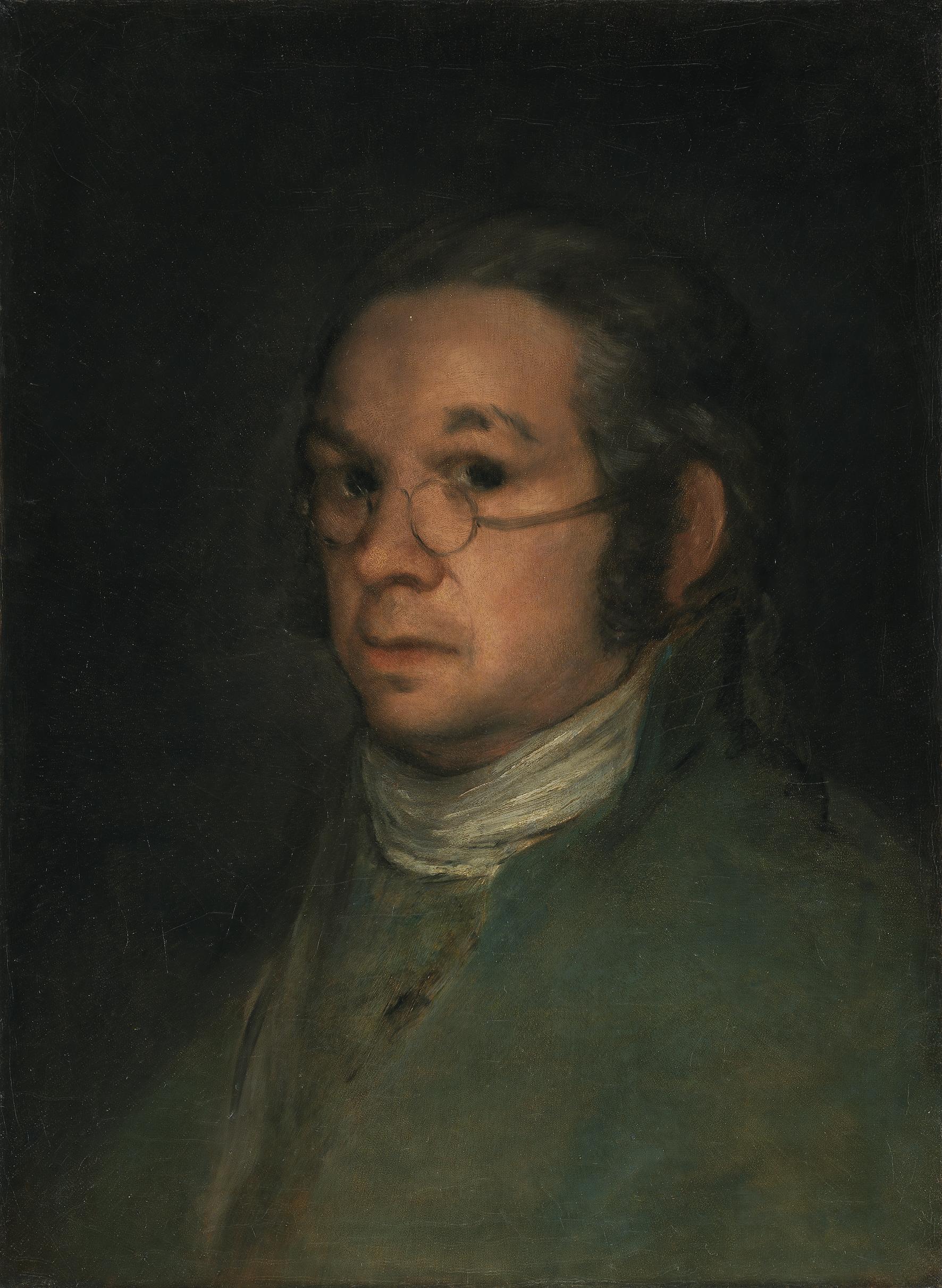 Francisco de GOYA Y LUCIENTES (1746-1828) Autoportrait, vers 1800