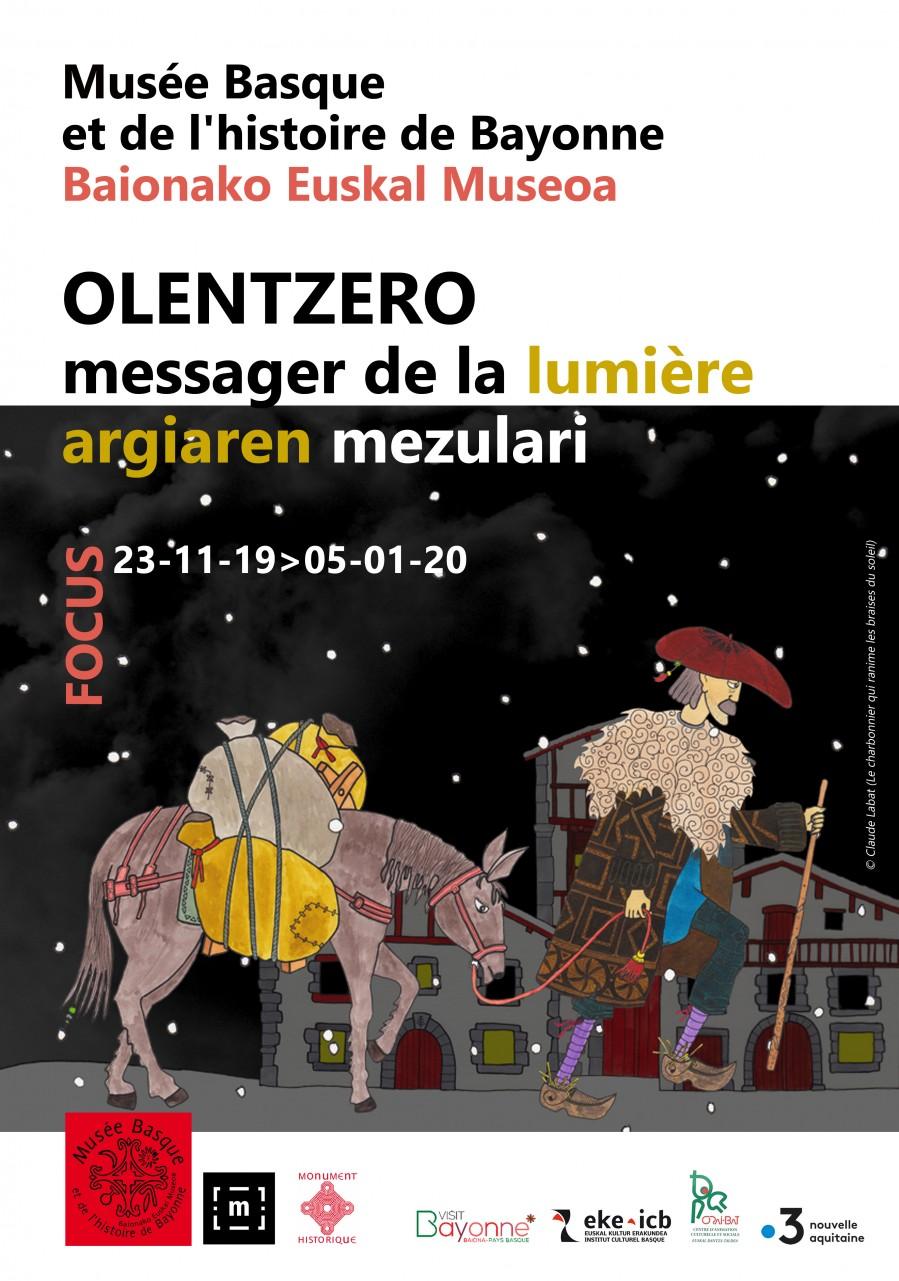 Olentzero, messager de la lumière affiche