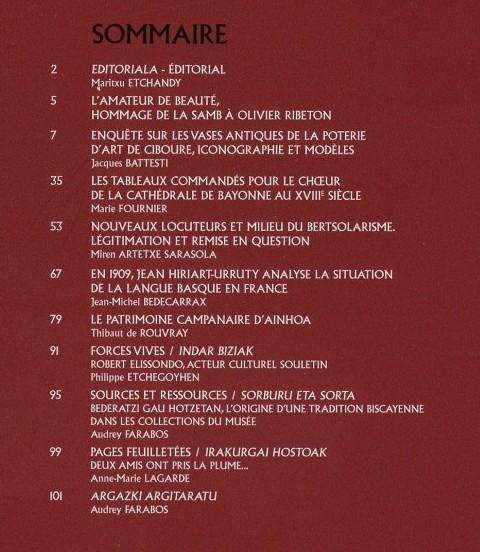 Sommaire BMB n°194